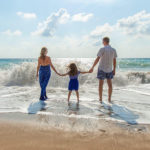famiglia mare spiaggia vacanza tiberio club sperlonga