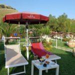 solarium mare ombrellone lettini sperlonga tiberio club bar ristorante