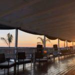 spiaggia mare ombrellone lettini sperlonga tiberio club sunset tramonto panorama terrazza