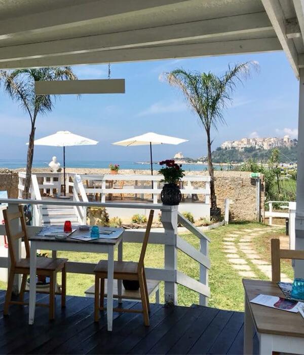 terrazza panoramica tiberio club sperlonga ristorante bar